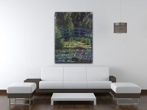Water Lily Pond 6 by Monet Canvas Print & Poster - Canvas Art Rocks - 4