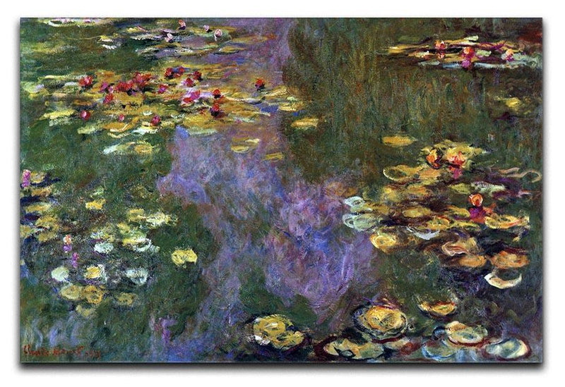Water Lily Pond Giverny by Monet Canvas Print & Poster  - Canvas Art Rocks - 1