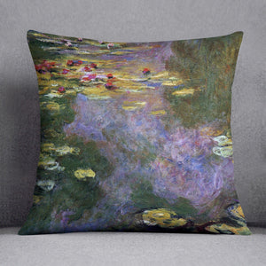 Water Lily Pond Giverny by Monet Throw Pillow