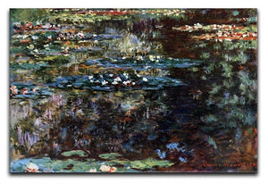 Water garden at Giverny by Monet Canvas Print & Poster  - Canvas Art Rocks - 1