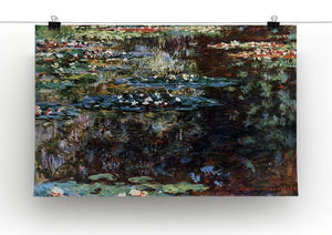 Water garden at Giverny by Monet Canvas Print & Poster - Canvas Art Rocks - 2
