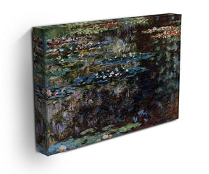 Water garden at Giverny by Monet Canvas Print & Poster - Canvas Art Rocks - 3