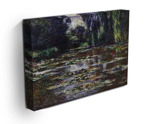 Water lilies water landscape 3 by Monet Canvas Print & Poster - Canvas Art Rocks - 3