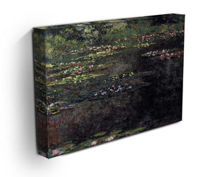 Water lilies water landscape 5 by Monet Canvas Print & Poster - Canvas Art Rocks - 3