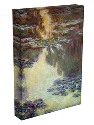 Water lilies water landscape 6 by Monet Canvas Print & Poster - Canvas Art Rocks - 3