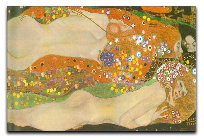 Water snakes friends II by Klimt Canvas Print or Poster