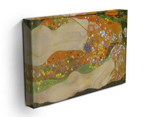 Water snakes friends II by Klimt Canvas Print or Poster - Canvas Art Rocks - 3