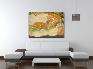 Water snakes friends II by Klimt Canvas Print or Poster - Canvas Art Rocks - 4