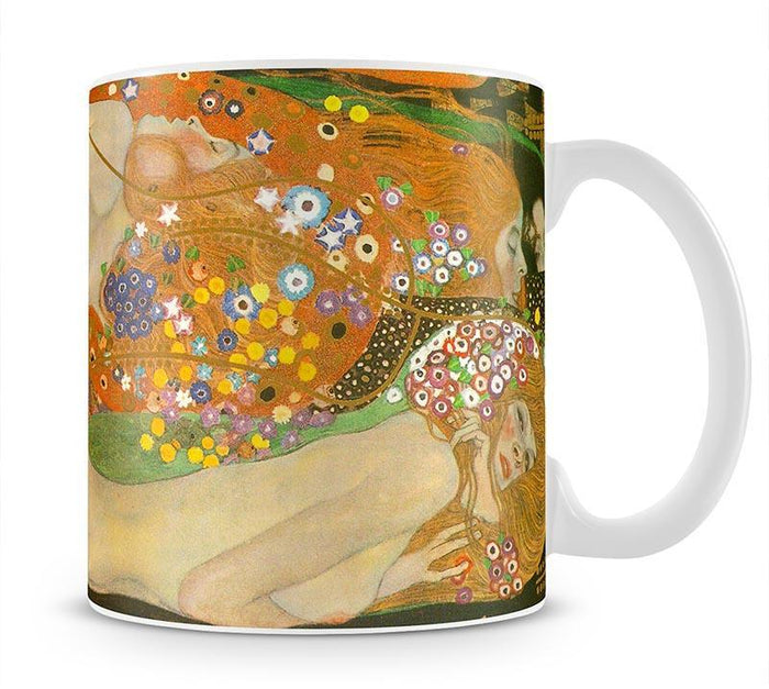 Water snakes friends II by Klimt Mug