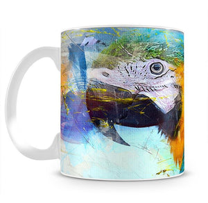 Watercolour Parrot Close Up Mug - Canvas Art Rocks - 2
