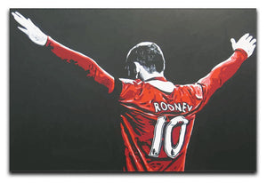Wayne Rooney Canvas Print - Canvas Art Rocks - 1