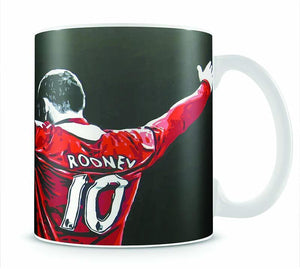 Wayne Rooney Mug - Canvas Art Rocks - 1