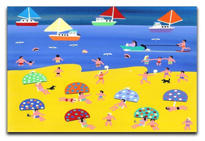 We are on holiday by Gordon Barker Canvas Print or Poster - Canvas Art Rocks - 1