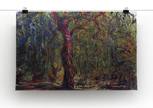 Weeping willow by Monet Canvas Print & Poster - Canvas Art Rocks - 2