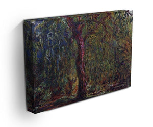 Weeping willow by Monet Canvas Print & Poster - Canvas Art Rocks - 3