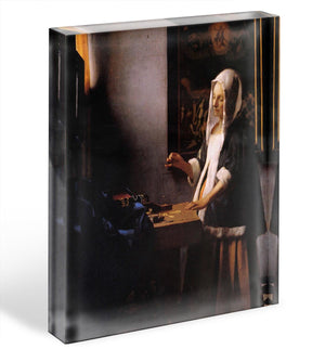 Weights by Vermeer Acrylic Block - Canvas Art Rocks - 1