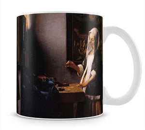 Weights by Vermeer Mug - Canvas Art Rocks - 1