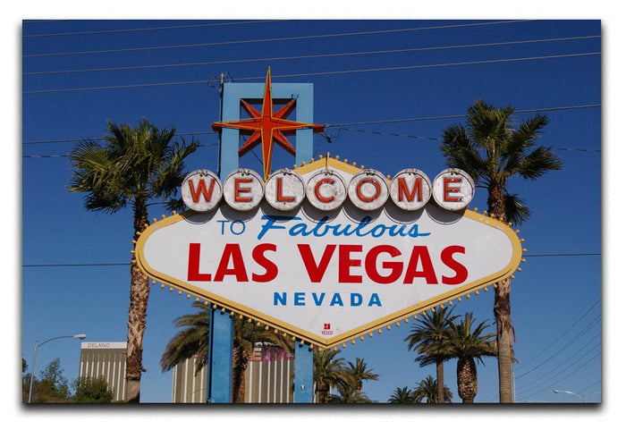 Welcome To Las Vegas Canvas Print or Poster