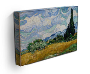 Wheat Field with Cypresses Canvas Print & Poster - Canvas Art Rocks - 3