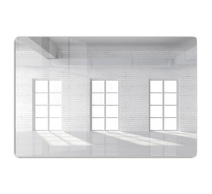 White brick loft with window HD Metal Print - Canvas Art Rocks - 1
