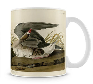 White fronted Goose by Audubon Mug - Canvas Art Rocks - 1