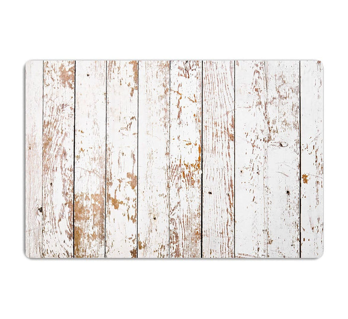 White grunge wooden HD Metal Print