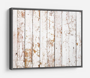 White grunge wooden HD Metal Print - Canvas Art Rocks - 9