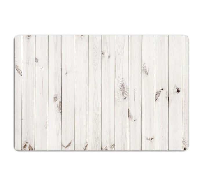 White wood texture background HD Metal Print