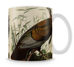 Wild Turkey by Audubon Mug - Canvas Art Rocks - 1