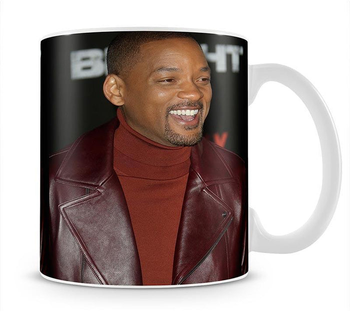Will Smith in brown Mug