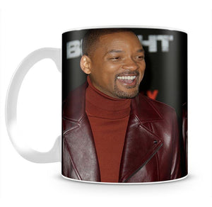 Will Smith in brown Mug - Canvas Art Rocks - 2