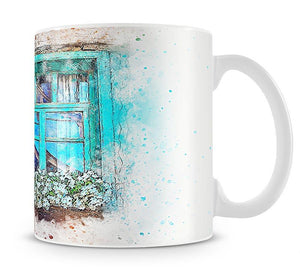 Window Painting Mug - Canvas Art Rocks - 1
