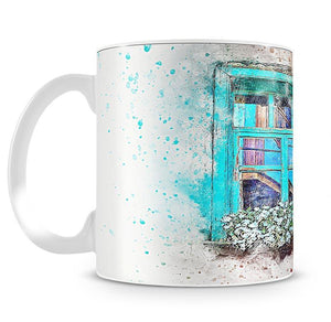 Window Painting Mug - Canvas Art Rocks - 2