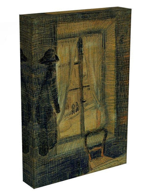 Window in the Bataille Restaurant by Van Gogh Canvas Print & Poster - Canvas Art Rocks - 3