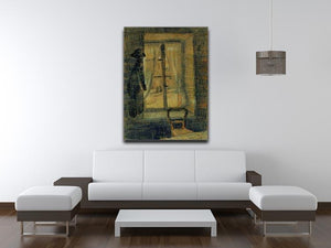Window in the Bataille Restaurant by Van Gogh Canvas Print & Poster - Canvas Art Rocks - 4