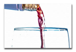 Wine by the Glass Print - Canvas Art Rocks - 1