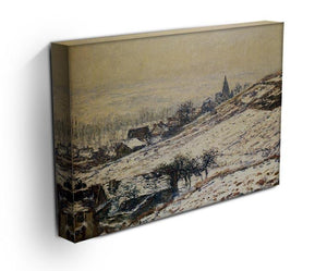 Winter At Giverny 1885 by Monet Canvas Print & Poster - Canvas Art Rocks - 3