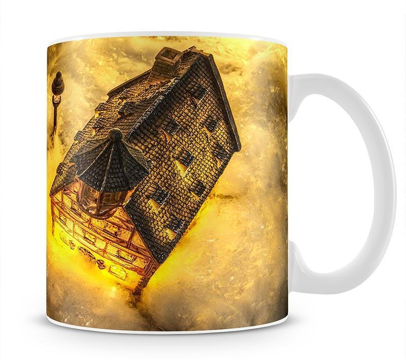 Winters Home Mug - Canvas Art Rocks - 1