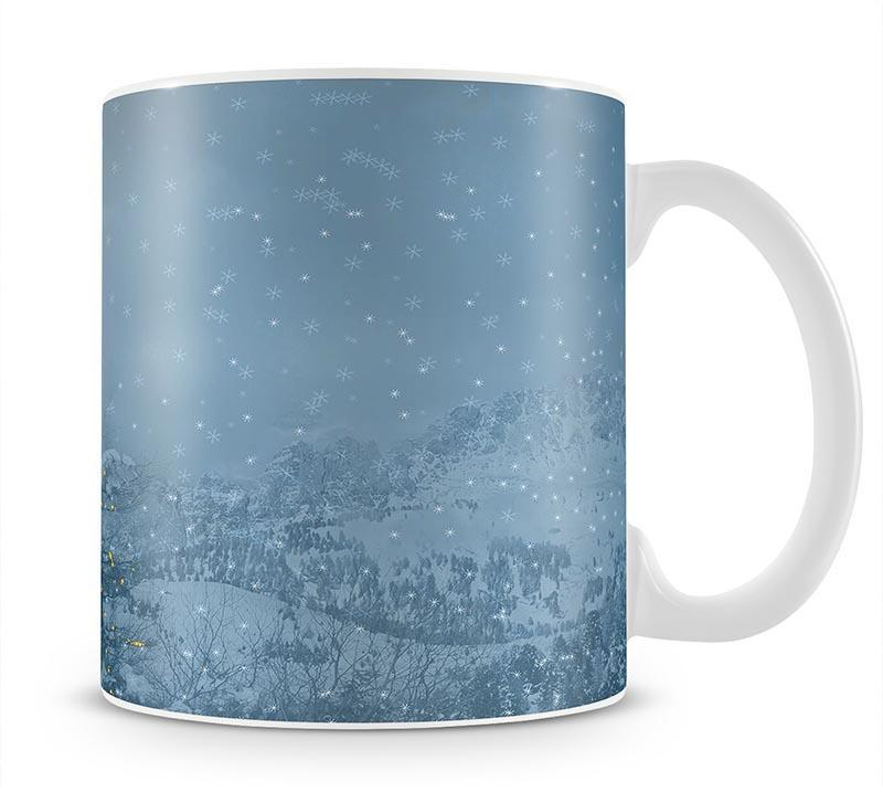 Winters Night Mug - Canvas Art Rocks - 1