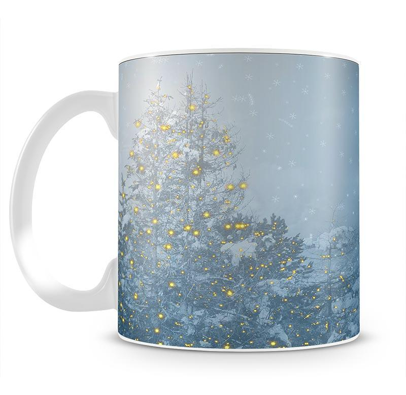 Winters Night Mug - Canvas Art Rocks - 2
