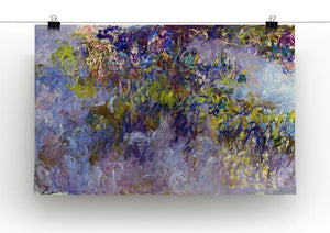 Wisteria 1 by Monet Canvas Print & Poster - Canvas Art Rocks - 2