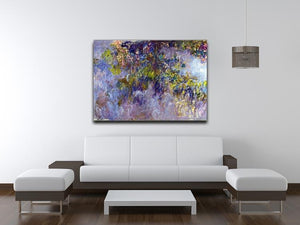 Wisteria 1 by Monet Canvas Print & Poster - Canvas Art Rocks - 4