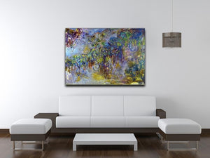 Wisteria 2 by Monet Canvas Print & Poster - Canvas Art Rocks - 4
