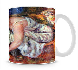 Woman Shoe Syndicate by Renoir Mug - Canvas Art Rocks - 1