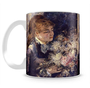 Woman with Lilacs by Renoir Mug - Canvas Art Rocks - 2