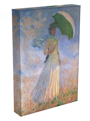 Woman with Parasol 2 by Monet Canvas Print & Poster - Canvas Art Rocks - 3