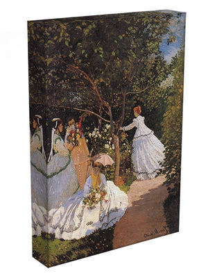 Women in the Garden by Monet Canvas Print & Poster - Canvas Art Rocks - 3