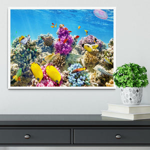 Wonderful and beautiful underwater Framed Print - Canvas Art Rocks -6