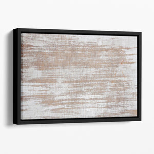 Wood background texture Floating Framed Canvas - Canvas Art Rocks - 1