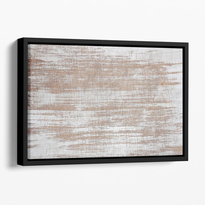 Wood background texture Floating Framed Canvas